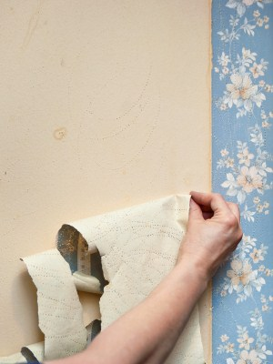 Wallpaper removal in Corona del Mar, CA by Irish Painting Company Inc.