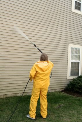 Pressure washing in East Irvine, CA by Irish Painting Company Inc.
